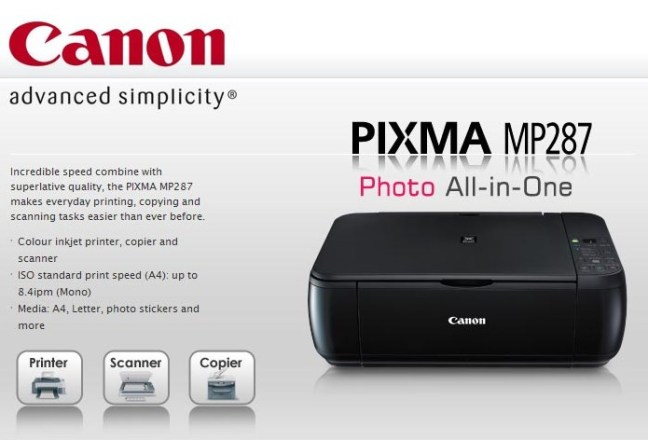 How To Reset Canon MP287 – ICTTechTips